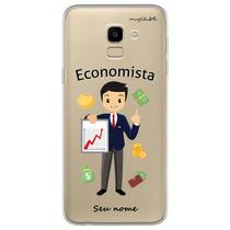 Capa para Galaxy J6 - Economista  Homem - Mycase
