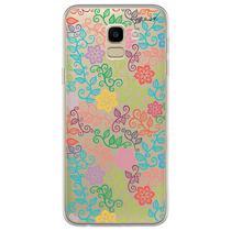 Capa para Galaxy J6 - Floral - Mycase
