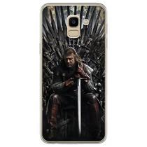 Capa para Galaxy J6 - Game Of Thrones  Ned Stark - Mycase