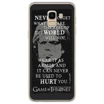 Capa para Galaxy J6 - Game Of Thrones  Tyrion Advice - Mycase