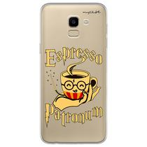 Capa para Galaxy J6 - Harry Potter  Espresso Patronum - Mycase