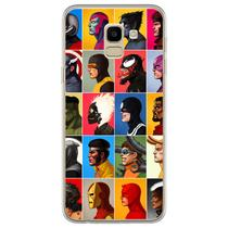 Capa para Galaxy J6 - Heróis e Vilões - Mycase
