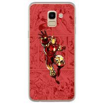 Capa para Galaxy J6 - História em Quadrinhos  Homem de Ferro - Mycase