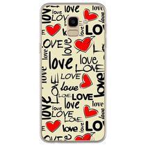 Capa para Galaxy J6 - Love - Mycase