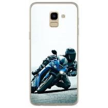 Capa para Galaxy J6 - Motocicleta  Moto Velocidade 1 - Mycase