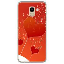 Capa para Galaxy J6 - Música  I Love Music 2 - Mycase