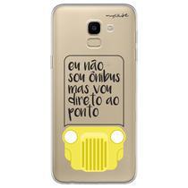 Capa para Galaxy J6 - Não sou Onibus - Mycase