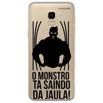 Capa para Galaxy J6 - O monstro ta saindo da jaula. - Mycase