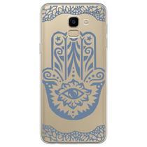 Capa para Galaxy J6 - Olho que tudo vê azul. - Mycase