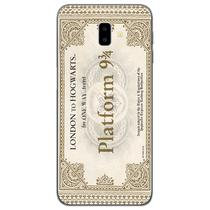 Capa para Galaxy J6 Plus - Harry Potter  Ticket Plataforma 9 e 34 - Mycase