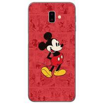 Capa para Galaxy J6 Plus - História em Quadrinhos  Mickey - Mycase