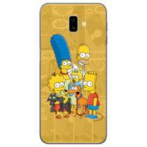 Capa para Galaxy J6 Plus - História em Quadrinhos  Simpsons - Mycase