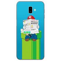 Capa para Galaxy J6 Plus - Mario Lendo Jornal - Mycase