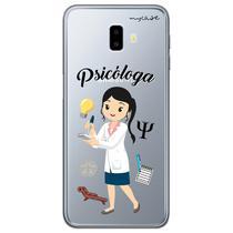 Capa para Galaxy J6 Plus - Psicóloga - Mycase