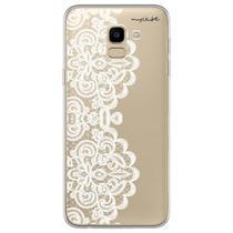Capa para Galaxy J6 - Rendas - Mycase