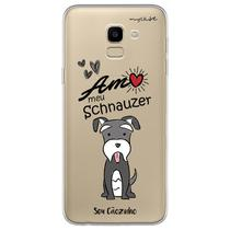 Capa para Galaxy J6 - Schnauzer - Mycase