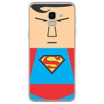Capa para Galaxy J6 - Superman Flat - Mycase