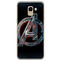 Capa para Galaxy J6 - The Avengers  Os Vingadores Logo 1 - Mycase