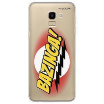 Capa para Galaxy J6 - The Big Bang Theory  Bazinga - Mycase