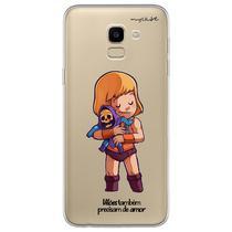 Capa para Galaxy J6 - Vilões Precisam de Amor  Esqueleto - Mycase