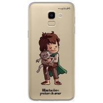 Capa para Galaxy J6 - Vilões Precisam de Amor  Gollum - Mycase