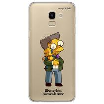 Capa para Galaxy J6 - Vilões Precisam de Amor  Mr. Burns - Mycase
