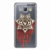 Capa para Galaxy J7 Metal Walking Dead Distintivo - Quero case