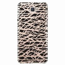 Capa para Galaxy J7 Prime Black Abstract - Quero case