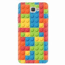 e8169496956 + Capinha de Celular · Capa para Galaxy J7 Prime Blocos Lego 01 - Quero case