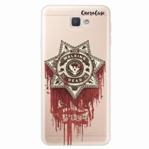 Capa para Galaxy J7 Prime Walking Dead Distintivo - Quero case