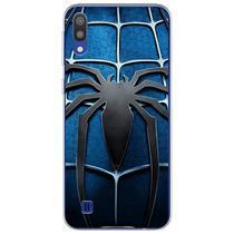 Capa para Galaxy M10 - Spider Man Azul - Mycase