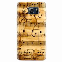 Capa para Galaxy Note 5 Partitura Musical 01 - Quero case