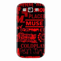 Capa para Galaxy Note Edge Bandas de Rock 01 - Quero case