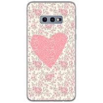 Capa para Galaxy S10 Plus - Coração Floral - Mycase