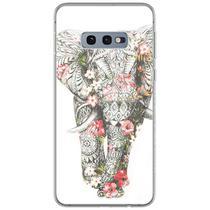 Capa para Galaxy S10 Plus - Elefante Floral - Mycase