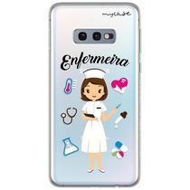 Capa para Galaxy S10 Plus - Enfermeira - Mycase