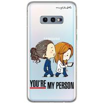 Capa para Galaxy S10 Plus - Grey's Anatomy  You're My Person - Mycase