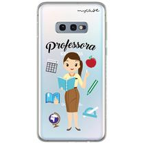 Capa para Galaxy S10 Plus - Professora - Mycase