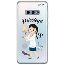 Capa para Galaxy S10 Plus - Psicóloga - Mycase