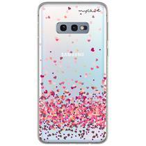 Capa para Galaxy S10E - Corações 4 - Mycase