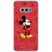 Capa para Galaxy S10E - História em Quadrinhos  Mickey - Mycase