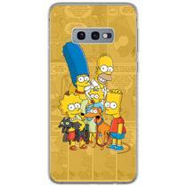 Capa para Galaxy S10E - História em Quadrinhos  Simpsons - Mycase