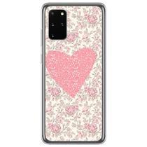 Capa para Galaxy S20 FE - Coração Floral - Mycase