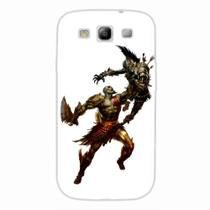 Capa para Galaxy S3 God of War Kratos 04 - Quero case