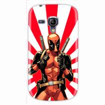 Capa para Galaxy S3 Mini Deadpool 02 - Quero case