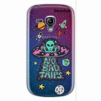 Capa para Galaxy S3 Mini ET UFO OVNI No Bad Trips - Quero case