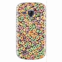 Capa para Galaxy S3 Mini Froot Loops - Quero case