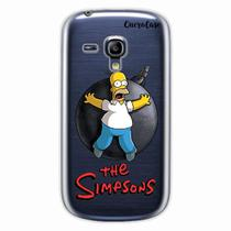 Capa para Galaxy S3 Mini Homer Simpsons 05 - Quero case
