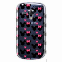 Capa para Galaxy S3 Mini Mickey e Minnie 05 - Quero case