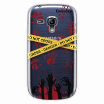 Capa para Galaxy S3 Mini Walking Dead - Apocalipse Zumbi - Quero case